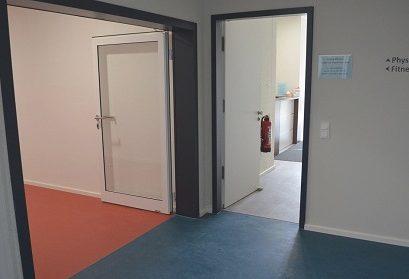 Eingang - Physiotherapie Valico Physio und Fitnesspark Puchheim